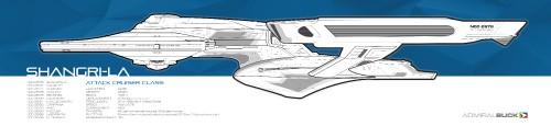 Profile line drawing NCC-2575