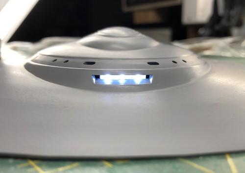 Forward spotlight assembly